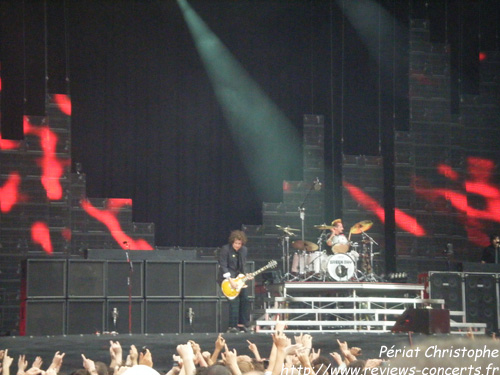 Green Day au Parc des Princes de Paris le 26 juin 2010
