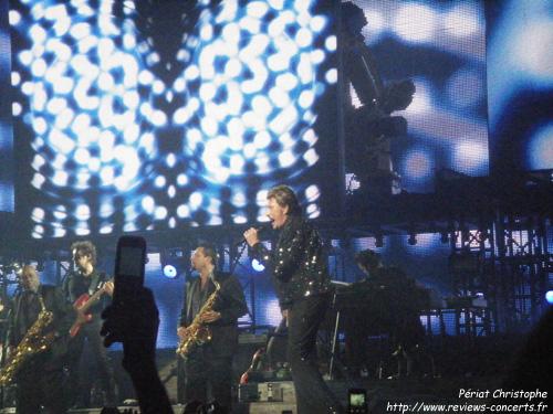 Johnny hallyday l 39 arena de gen ve le 27 10 2009 - Les portes du penitencier johnny hallyday ...