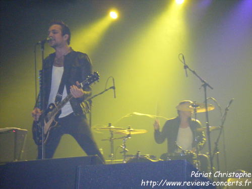 Royal Republic au Zénith de Paris le 31 août 2011