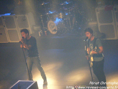 Simple Plan aux Docks de Lausanne le 8 septembre 2011