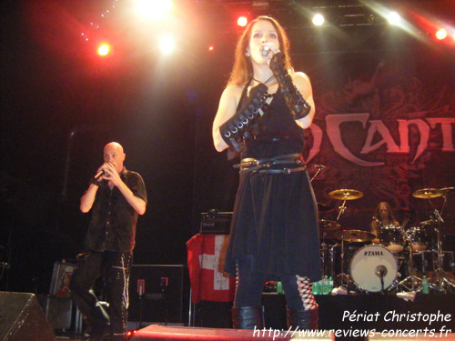 Van Canto au Z7 de Pratteln pour le Out Of The Dark Festival le 5 octobre 2011