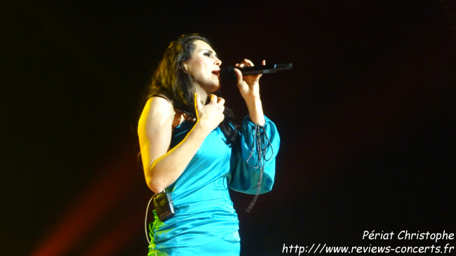 Within Temptation au Sportpaleis d'Anvers le 13 novembre 2012
