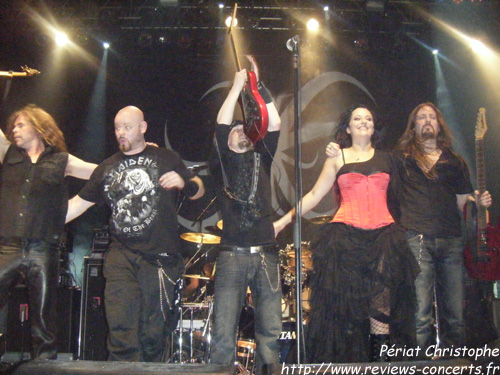 Xandria au Z7 de Pratteln pour le Out Of The Dark Festival le 5 octobre 2011