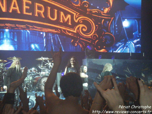 Nightwish à la Halle Tony Garnier de Lyon le 20 avril 2012